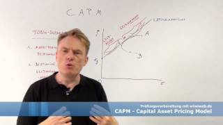 investitionsrechnung capm capital asset pricing model cfa-course.com
