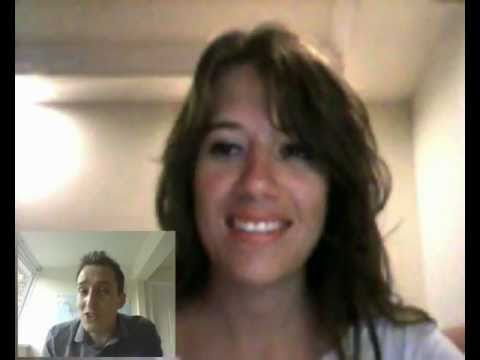 Watch a live online English lesson with native English teacher on Skype November 2017
