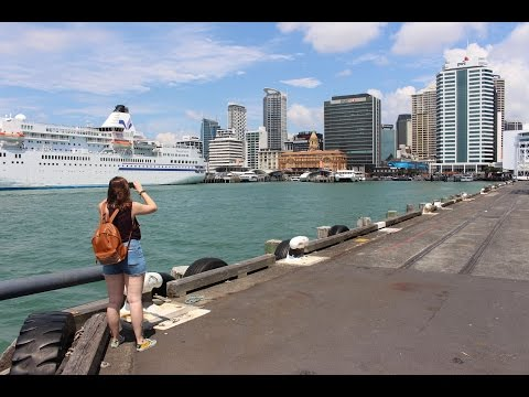 New-Zealand Travel Vlog 1 | Auckland |
