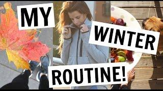 MY DAILY WINTER ROUTINE | FOAM ROLLING & FOOD