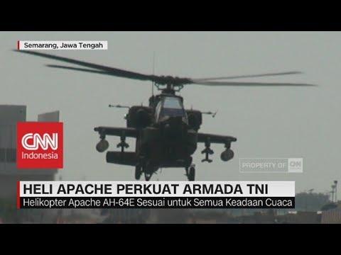 Heli Apache Perkuat Armada TNI