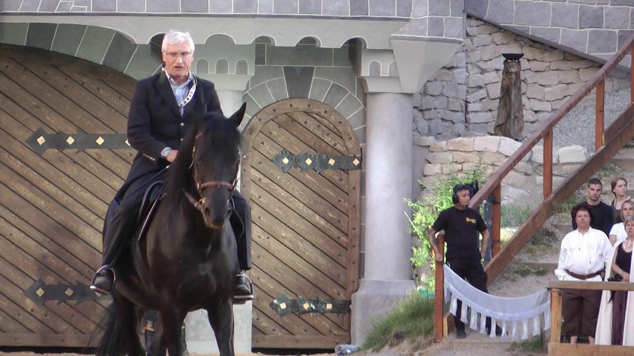 Danksagung SKH Luitpold Prinz von Bayern für 40 Jahre Kaltenberger Ritterturnier