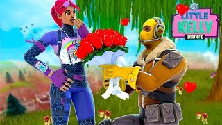 LITTLE KELLY AND RAPTOR ARE BACK TOGETHER? - Fortnite Short film
