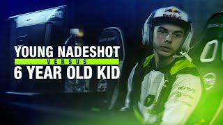Young Nadeshot vs. 6 Year Old Kid