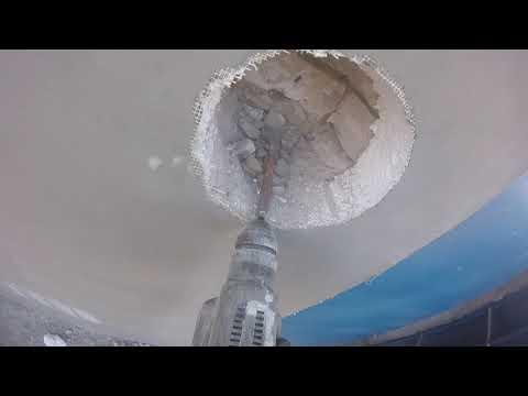Как сделать отверстие в стене под вентиляцию