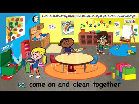 Clean up is fun children 39 s cleaning song kids songs by the for Music to clean to