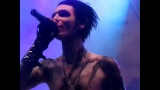 """Andy Biersack's """"The Legacy"""" Face. Wolverhampton, 24th March 2012."""