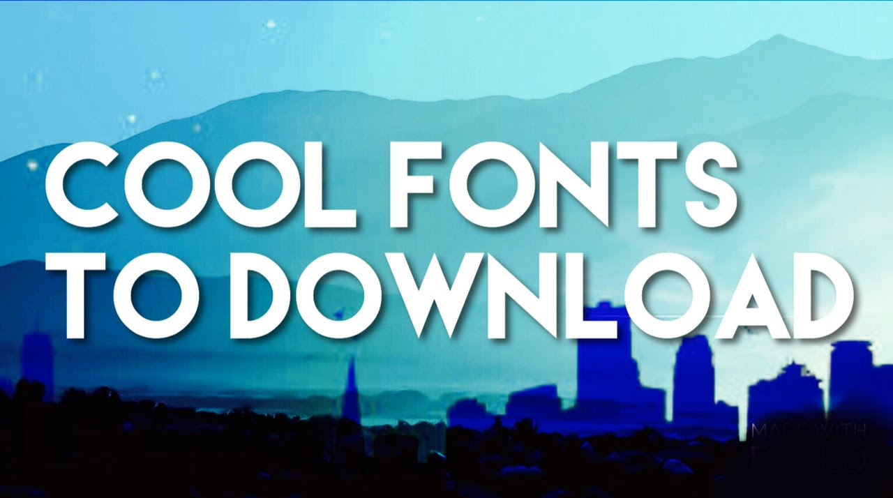 Most Popular Fonts Font Squirrel
