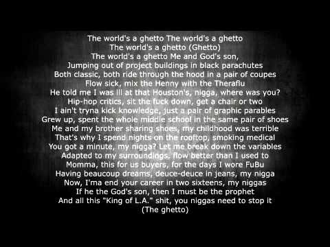 The Game - The Documentary 2.5 - The Ghetto feat Nas & will i am With Lyrics