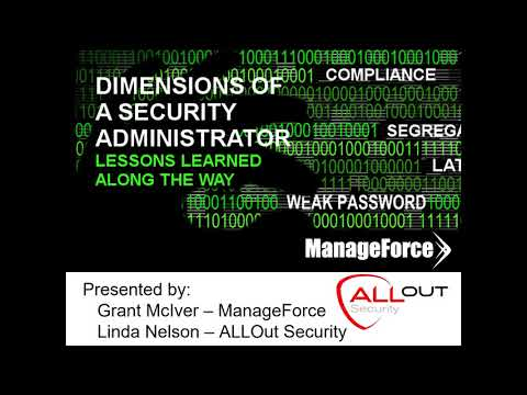 Mastering the Role of JDE Security Administrator, ManageForce Webinar