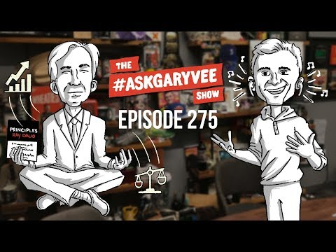 Ray Dalio, Principles, The Evolution of Bridgewater Associates, & Meditation | #AskGaryVee 275