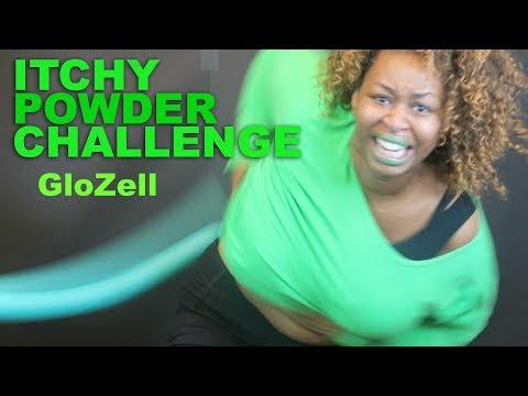 Itchy Powder Challenge - GloZell
