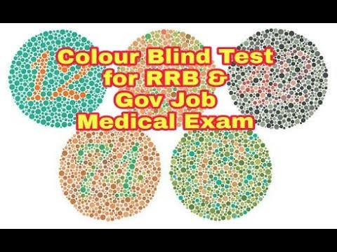 Hard Colour Blind Test How To Read Colour Blind Test Book For
