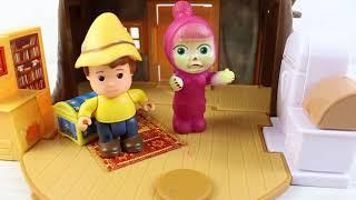 Küçük Karekterler Oyun Oynuyor Çizgi Film