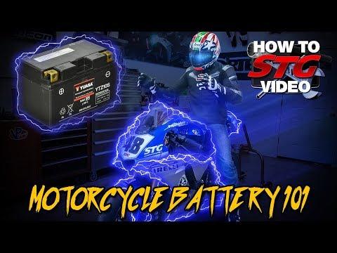 Motorcycle Battery 101  Sportbiketrackgearcom