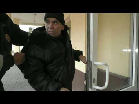Охранник убегает от ИДПС/штраф охраннику г.Ростов-на-Дону