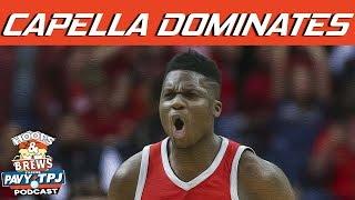 Clint Capella Dominating the Warriors ? | Hoops N Brews