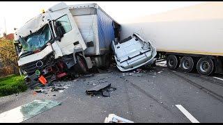 Аварии на дорогах  Подборка ДТП за декабрь