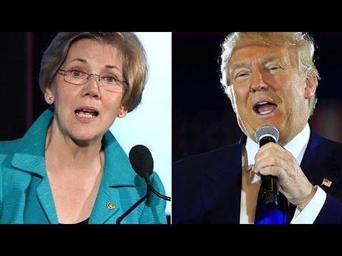 """Elizabeth Warren On Trump: """"It's Real"""""""