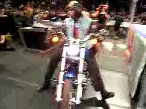 WWE SMACKDOWN CHUCK PALUMBO FRONT ROW WILKESBARRE PA 1/08/08