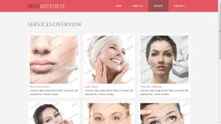 Beauty Spa Salon Website Template