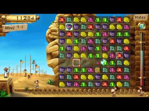7 Wonders of the Ancient World - Gameplay - Español - PSP
