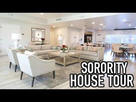 Sorority House Tour | Alpha Chi Omega At Arizona State University