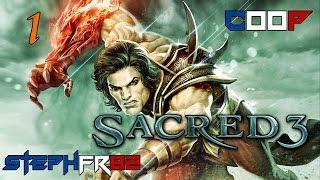 Sacred 3 - Orcs en stock - Découverte coop ft. Larasasa 1-2 - FR PC HD