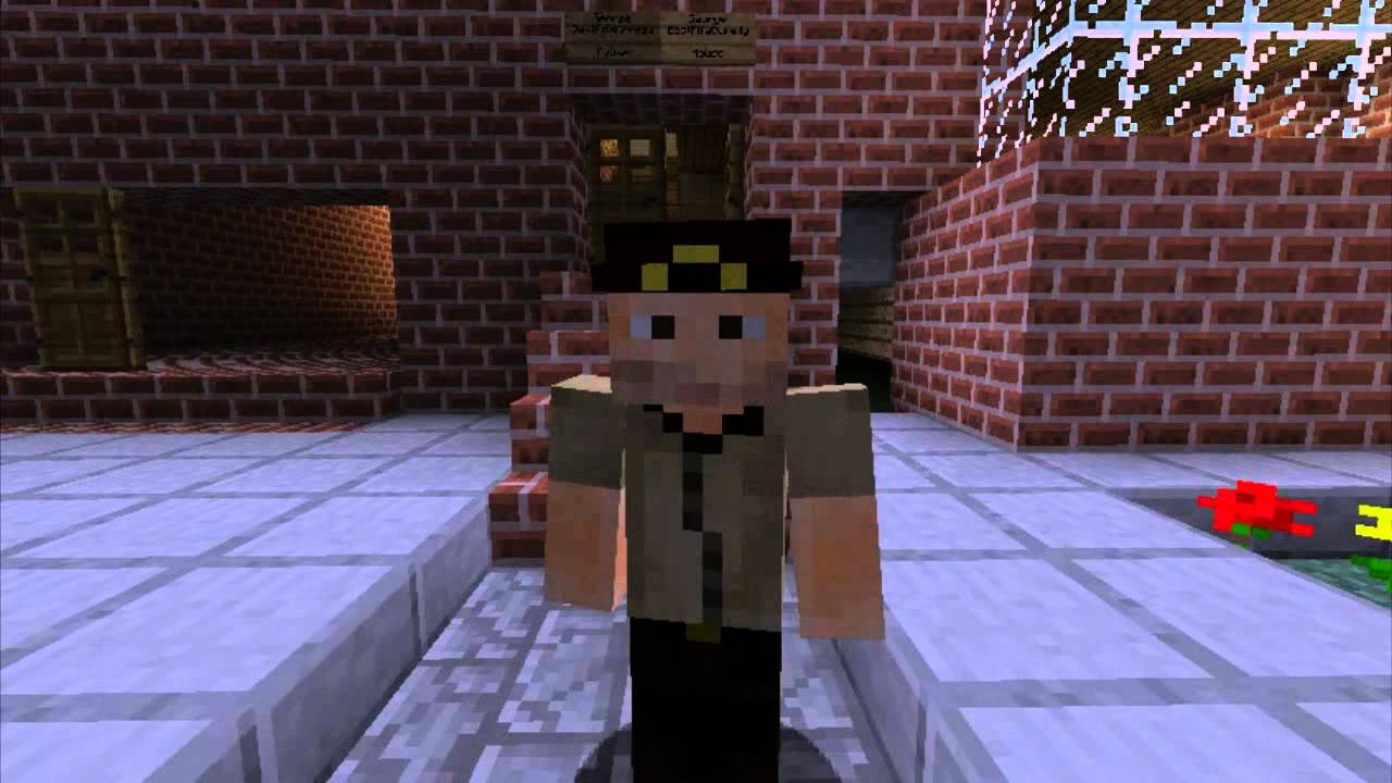 Minecraft Skins The Walking Dead Rick Grimes Youtube