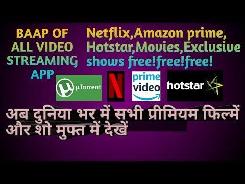 Download Get Netflix Amazon Hotstar Alt Zee5 Premium Shows All In