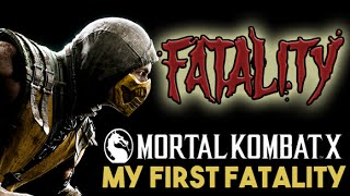 Mortal Kombat X Mobile - My FIRST Fatality (iOS Gameplay)
