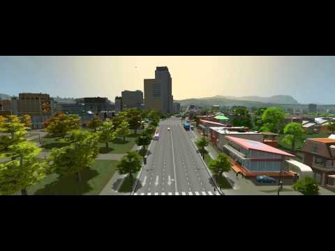 """""""Cities: Skylines"""" Closeup in 21:9/3440x1440/~4k"""