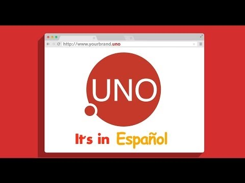 Reach the US Hispanic & Latino Consumers with .UNO Domain
