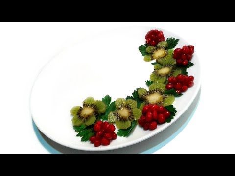 Украшение Тарелки для подачи Блюд ✧ 12 видов Декора