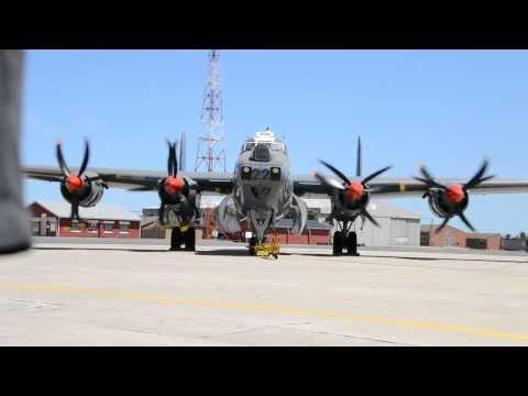 Avro Shackleton 1722 Ground Run Ysterplaat AFB - 25 January 2014