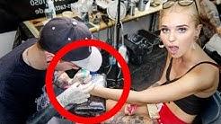 Spontanes Mutter - Tochter Tattoo!