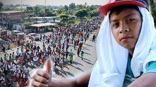 Cómo reciben en México a la caravana de migrantes centroamericanos