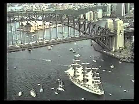 Dar Mlodziezy 1988 in Sydney