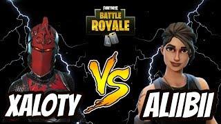 Xaloty vs Vicious Aliibii (Fortnite Battle Royale)