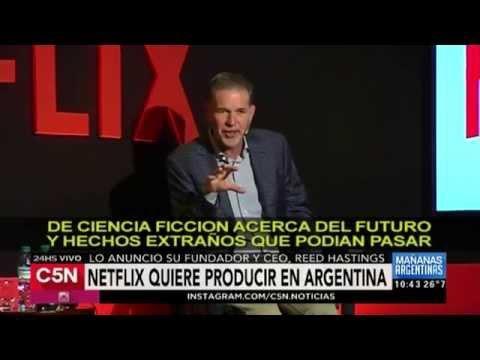 C5N - Espectáculos: Netflix quiere producir en Argentina