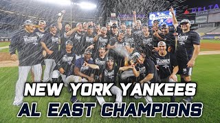 Yankees 2019 AL East Celebration