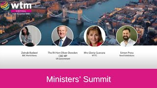UNWTO, WTTC and WTM Ministers' Summit – Sustainable Practices