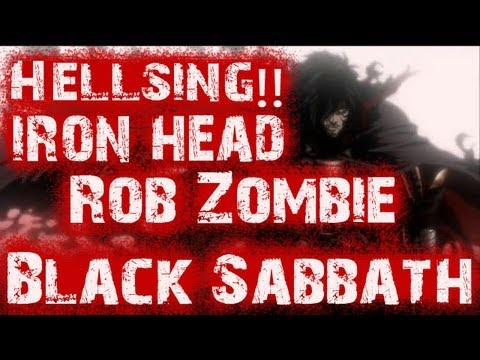 Hellsing (Alucard) iron head (Rob Zombie) (Black Sabbath)subtitulada lyrics