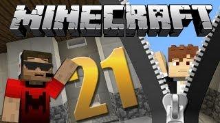 Elevador ziper - Minecraft Em busca da casa automática #21