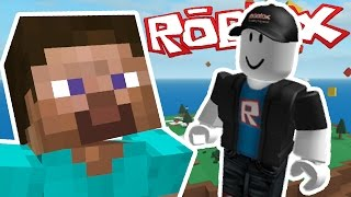 MINECRAFT PLAYER PLAYS ROBLOX FOR THE FIRST TIME