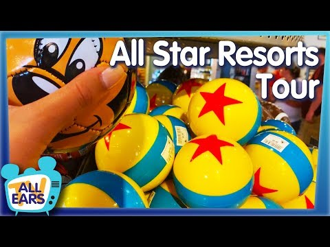 Three Resorts In ONE! Find Out Why The All Star Resorts At Walt Disney World Are Totally Awesome!