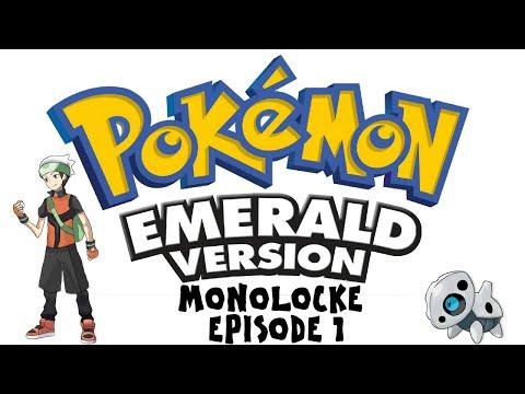 Pokemon Emerald Monolocke | 'WE BOTH LOST TO MAY?' | Episode 1