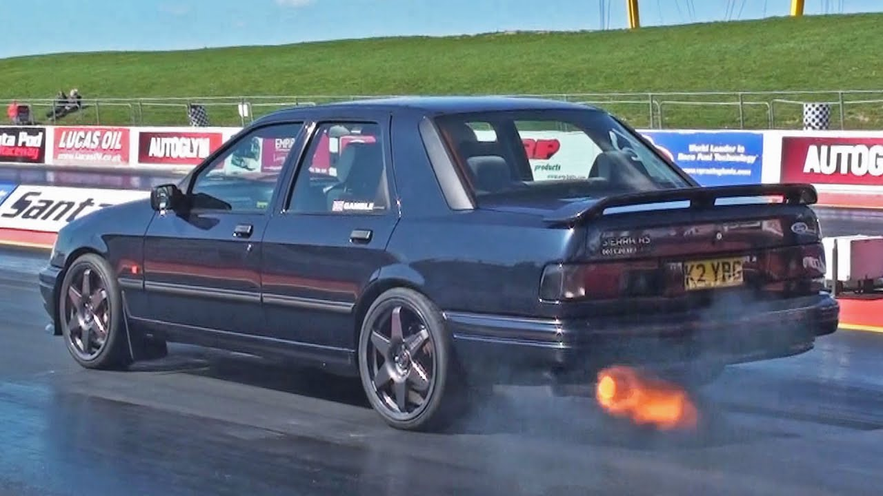 ford sierra sapphire cosworth runs at 120 mph youtube. Black Bedroom Furniture Sets. Home Design Ideas