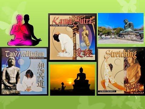 KAMA SUTRA ● STRETCHING ● TAO MEDITATION  ☯ ॐ ☸  Meditative Music For Tantra, Kundalini Yoga, Trance