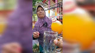 Indonesian Street food jamu Sinom Jojoran